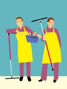 Solliciteer direct voor de vacature oproepwerk schoonmaak