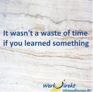 Inspirerende werk quote